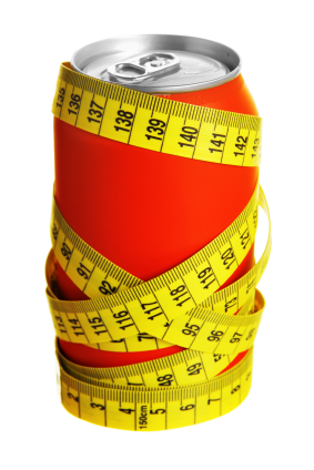 Cola can and measuring tape