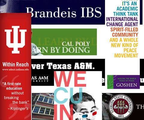 College Banner Ads