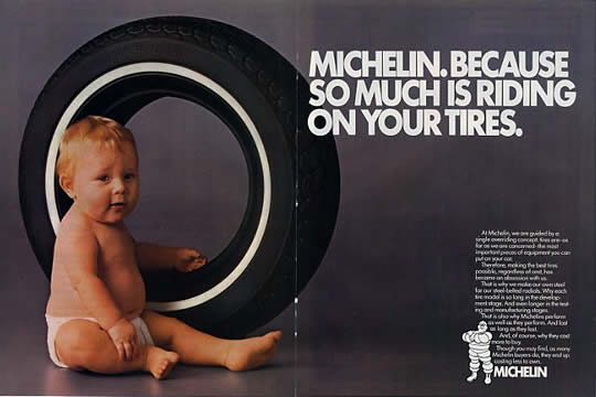 Michelin Baby Ad