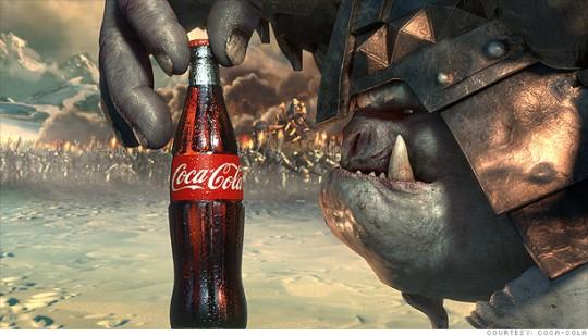 Coca Cola Ogre