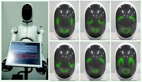 Mechadroid Robot Receptionist