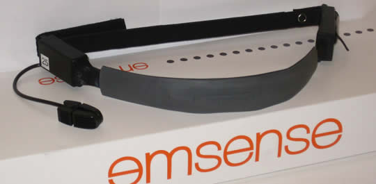 EmSense EmBand wireless headset