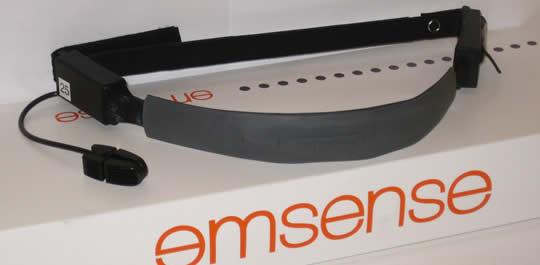 EmSense EmBand wireless headset