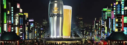 Sapporo Beer Commercial