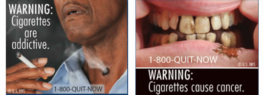 Cigarette Warning Labels