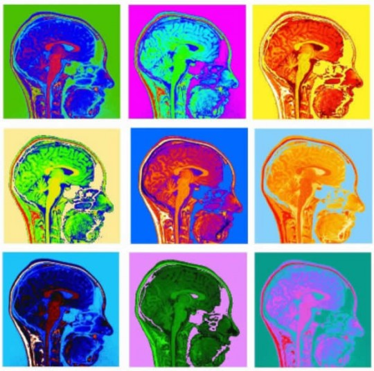Andy Warhol for Neuroscientists I by Valerie van Mulukom