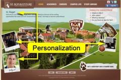 Social Personalization via Facebook