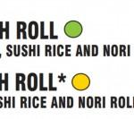 sushi menu detail