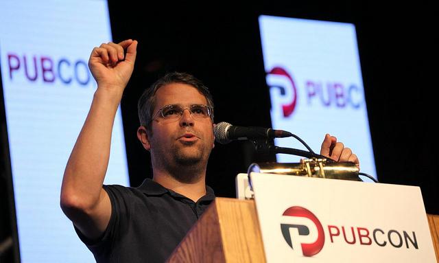 Matt Cutts - Pubcon LV 2013 (Photo by Michael Dorausch - michaeldorausch.com}