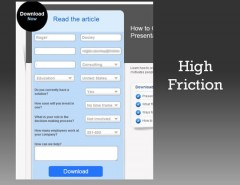 High friction form