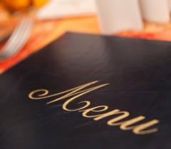 closed menu