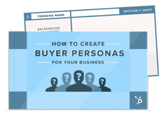 Hubspot has a great resource on Buyer Personas, that comes with a free template.